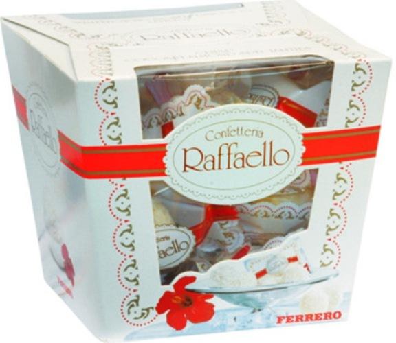 Конфеты Raffaello<br>Ингредиенты: Rafaello 1 шт;