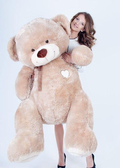 Медведь Макс кофейный 180 см<br>