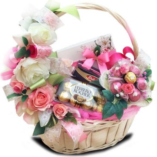 Подарочная корзина Розы<br>