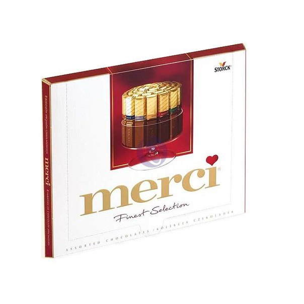 Конфеты Merci<br>Ингредиенты: Merci 250 гр. 1 шт;