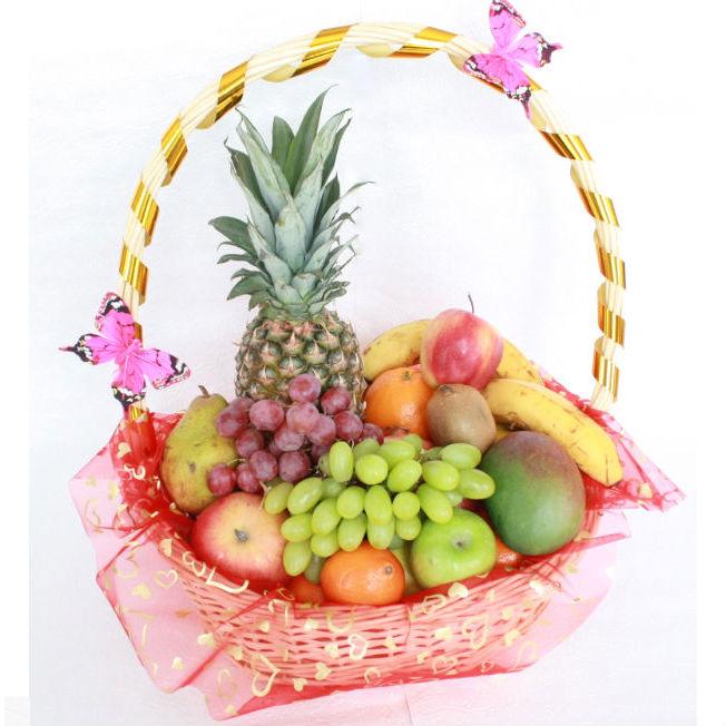 Подарочная фруктовая корзина<br>