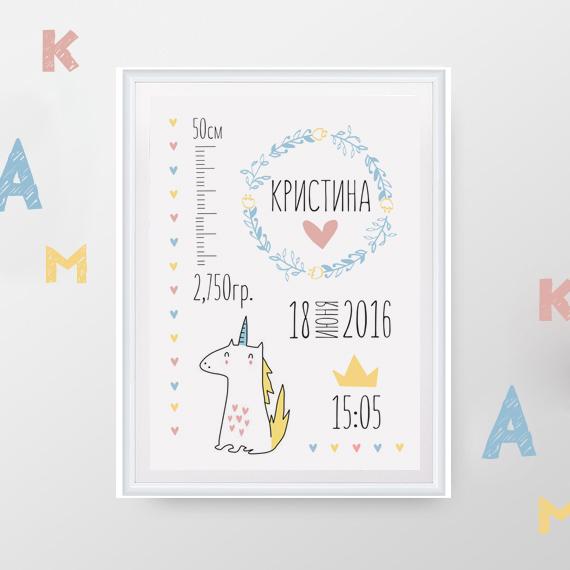Метрика Единорожка1<br>