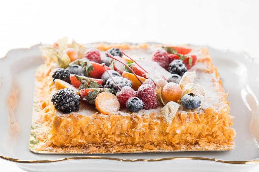Торт Ягодный Мильфей<br>