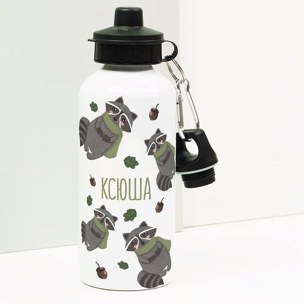 Бутылка для воды Еноты1<br>