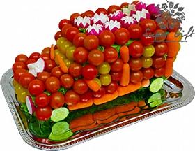 Джип из овощей<br>