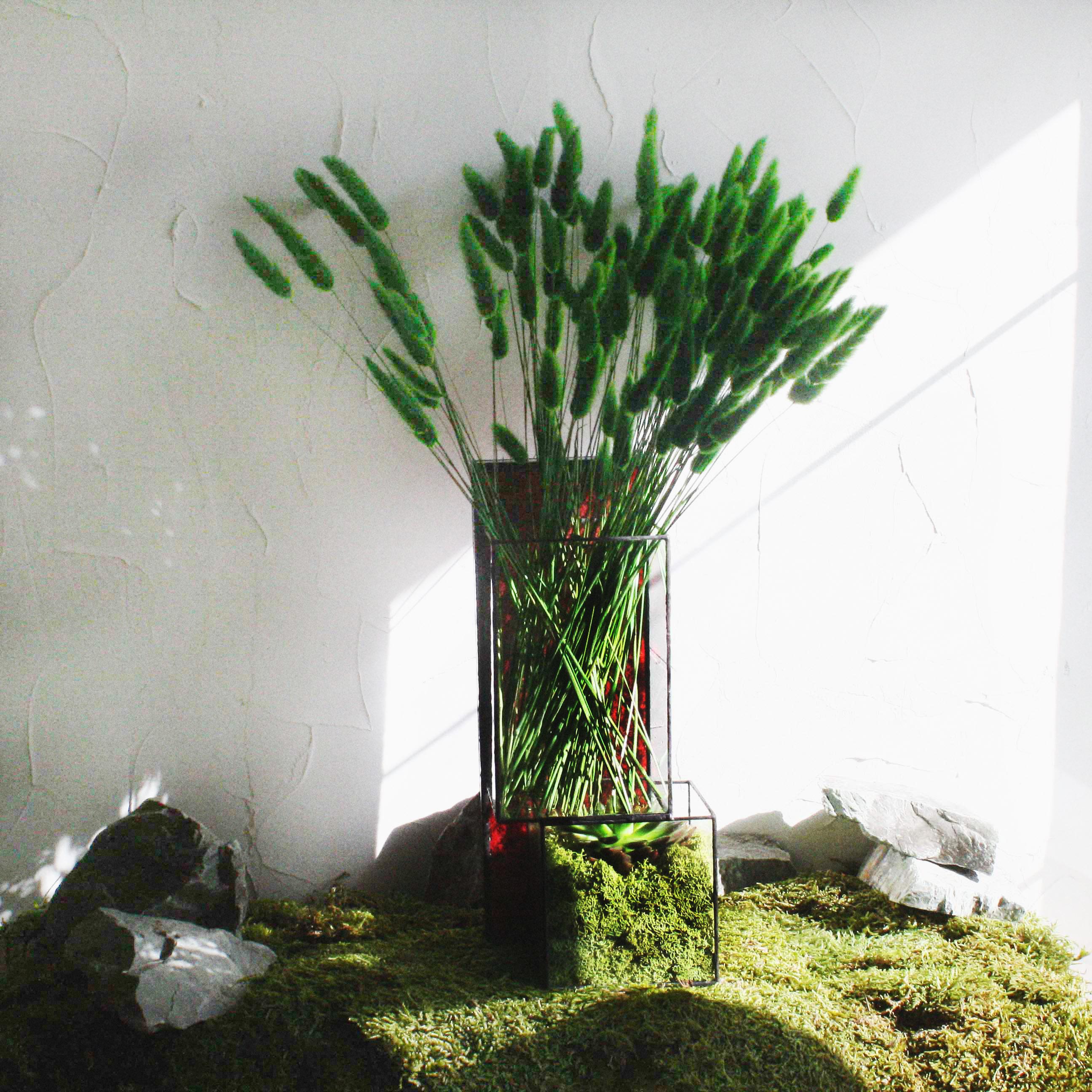 Ваза с сухоцветами ECHEMOSS REDПодарки<br><br>